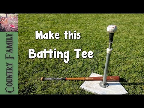 The Best Batting Tee – How to make it